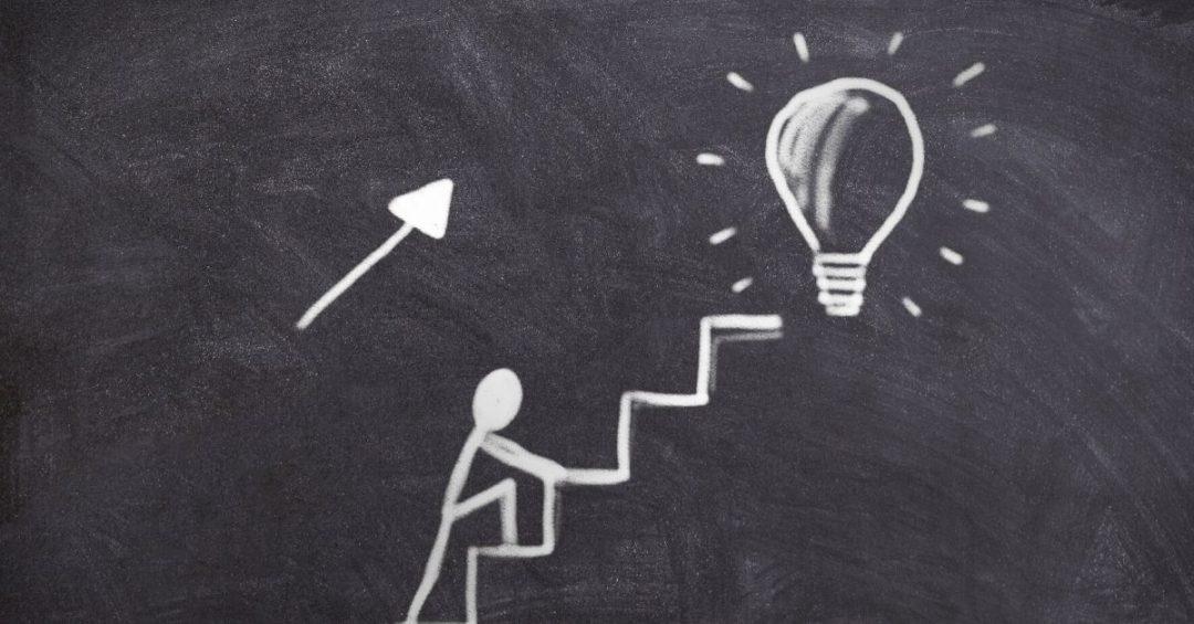 escalera a una idea